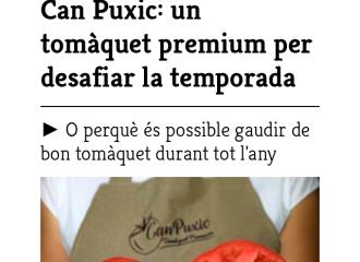 Entrevista Can Puxic a Maresme Gourmet