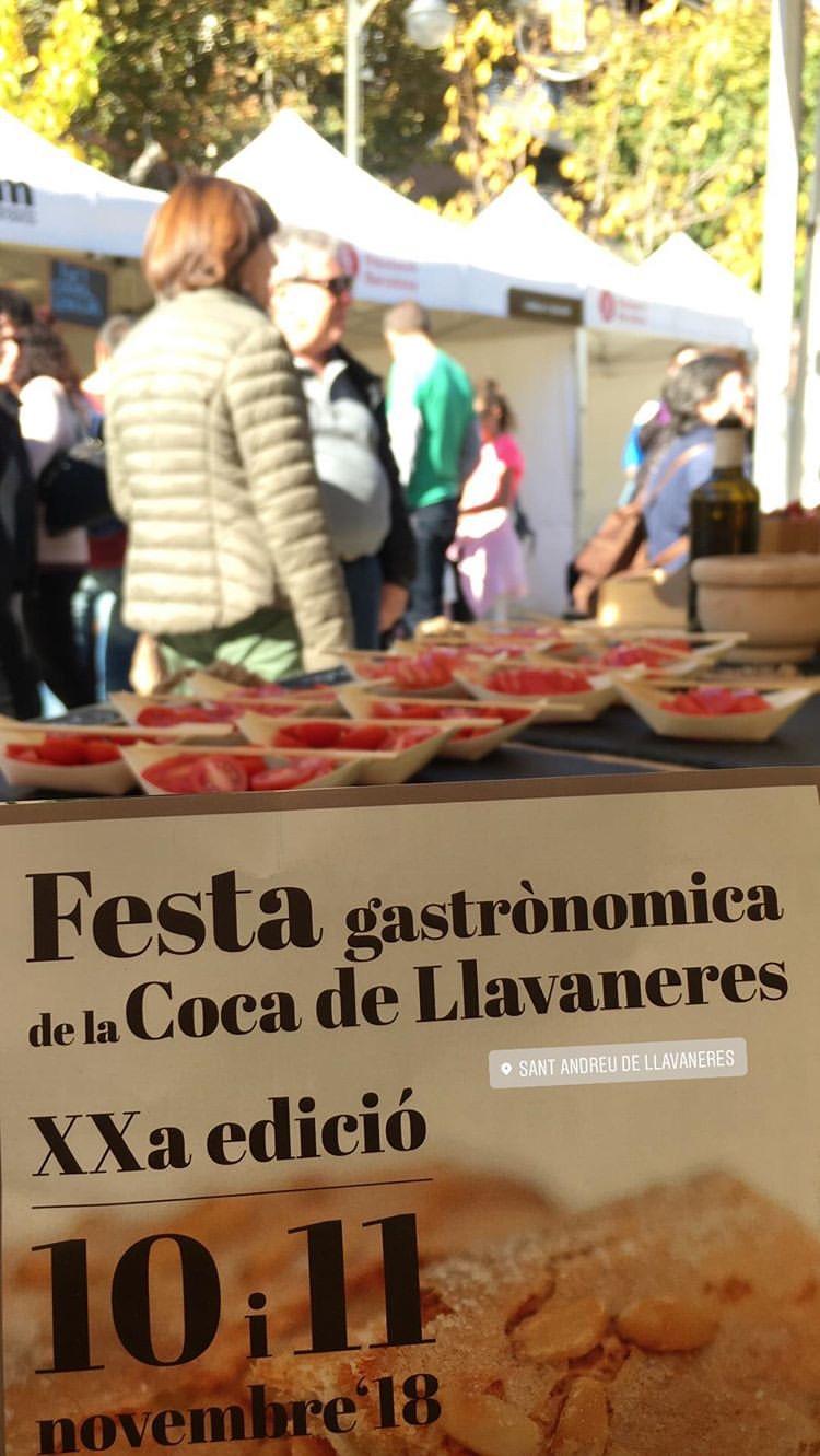 Can Puxic a la Fira Gastronòmica de Tardor de Sant Andreu de Llavaneres