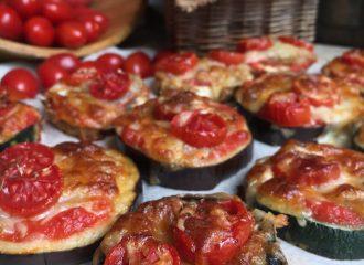Mini Pizzes Vegetals