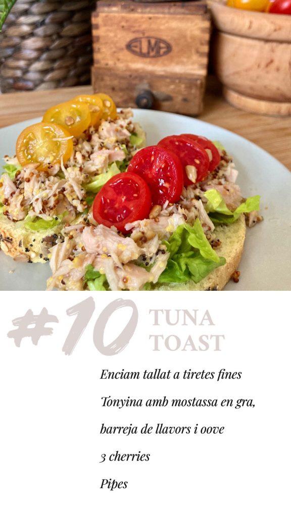 torrada de tonyina